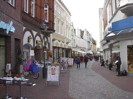 Bilder Husum´s Einkaufsstrassen 2005