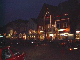 Weihnachtsmarkt 2001 in Husum