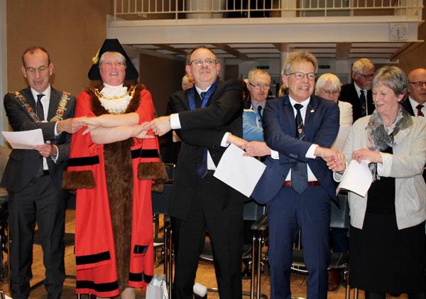 40 Jahre Städtepartnerschaft Kidderminster und Husum