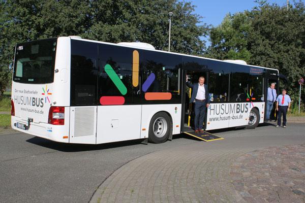 HusumBus: Die neuen Busse sind angekommen