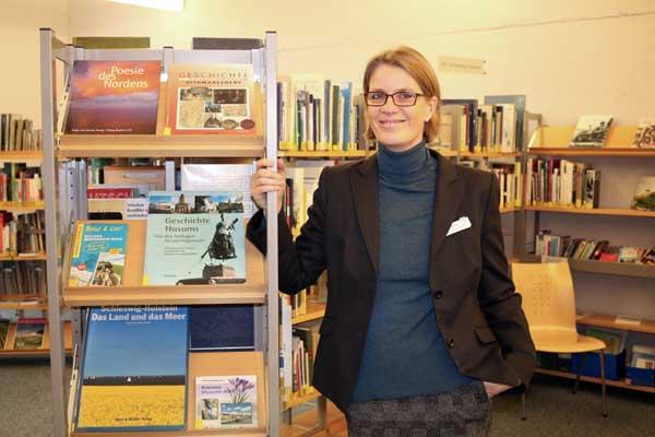 Neue Leiterin der Stadtbibliothek in Husum