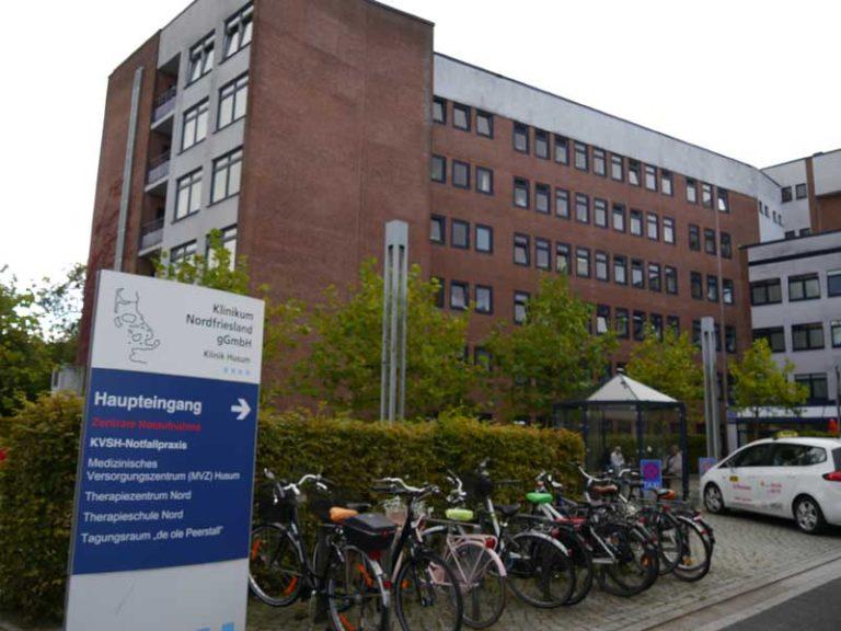 Kliniken Husum und Niebüll bleiben noch geschlossen