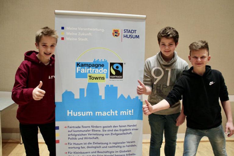 Fairtrade Town Husum nimmt Fahrt auf