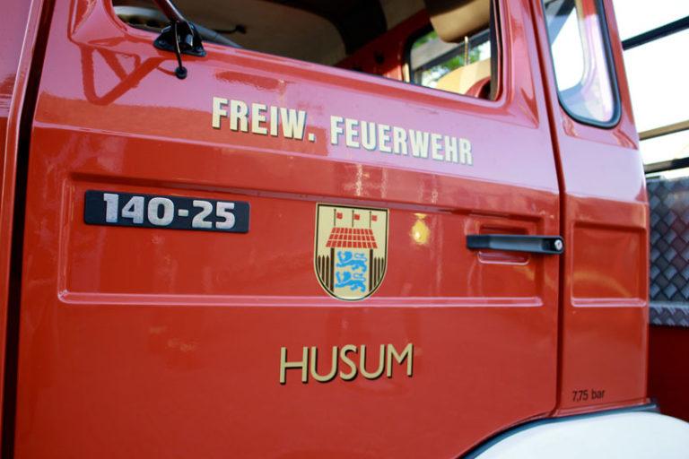 Feuerwehr Husum ist einsatzbereit
