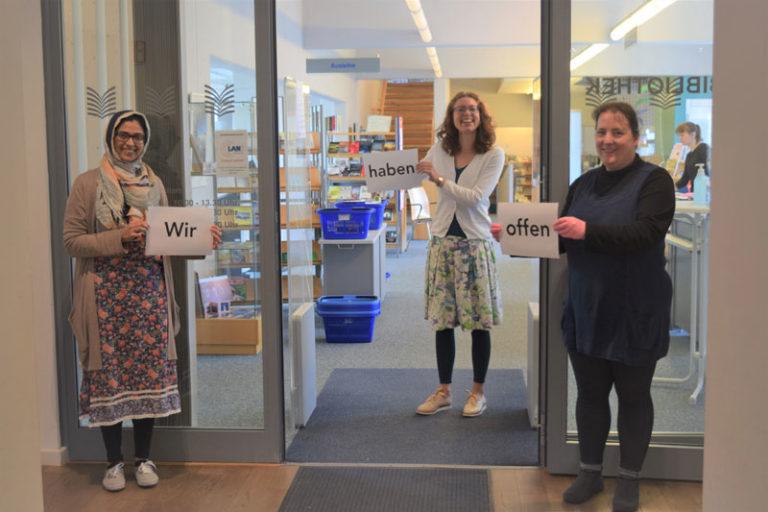 Husumer Stadtbibliothek ab sofort wieder geöffnet