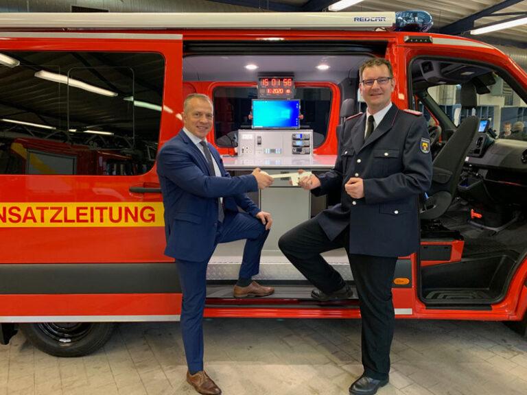 Neuer Einsatzleitwagen für die Husumer Feuerwehr