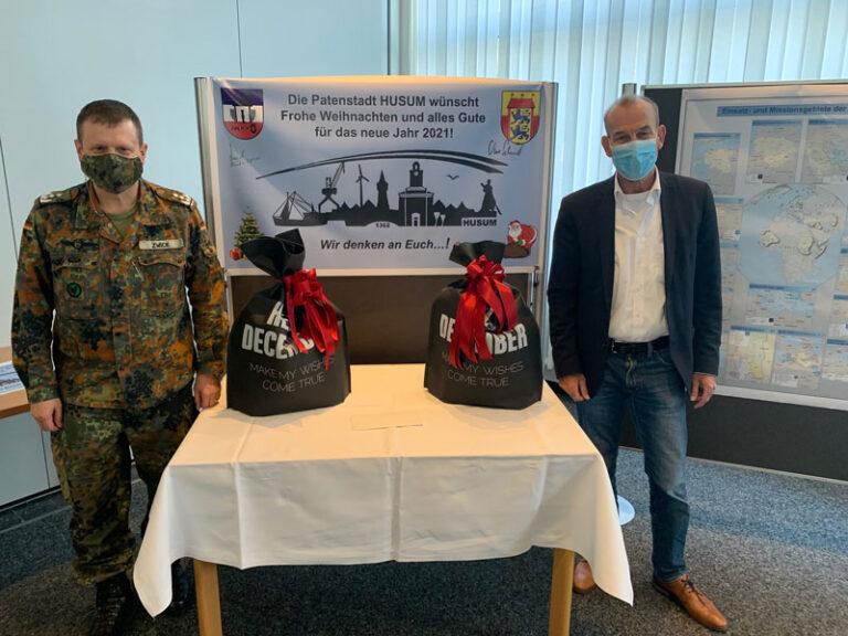 Husum: Weihnachtspakete für die Spezialpioniere im Ausland