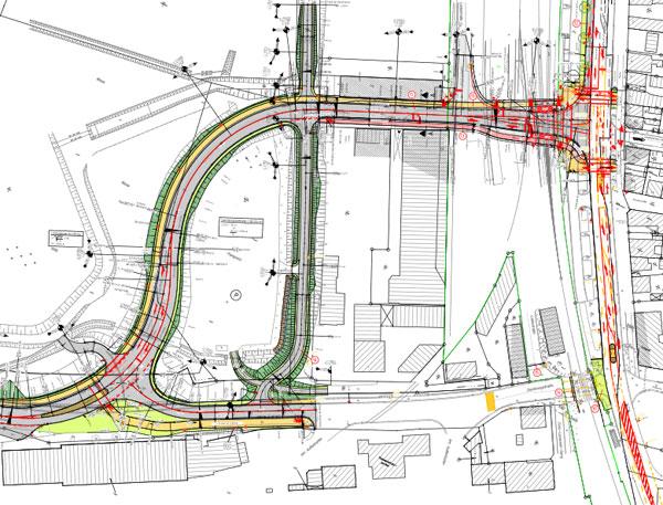 Husum / Bahnübergang Westtangente: Frühzeitige Öffentlichkeitsbeteiligung