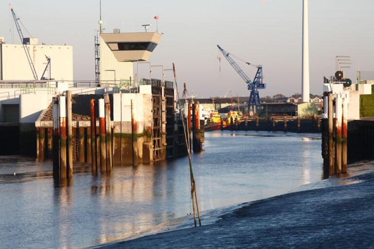 Husumer Sperrwerk wird für Bauwerkprüfung zwei Monate geschlossen