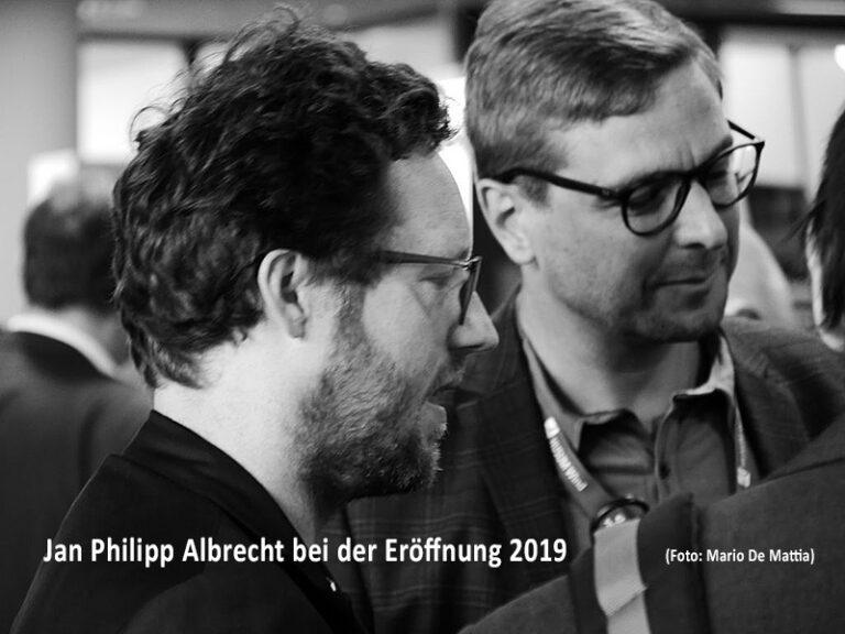 Energiewendeminister Jan Philipp Albrecht: HUSUM Wind ist eröffnet